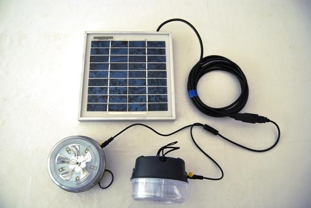 Solaire produits energie renouvelables kit clairage for Eclairage interieur solaire