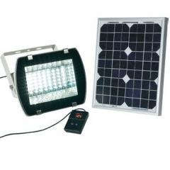 Projecteur solaire 54 LED