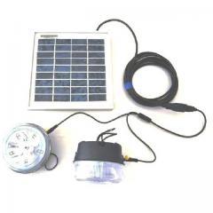 Kit éclairage solaire 24 lampes