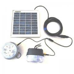 Kit éclairage solaire 2 lampes